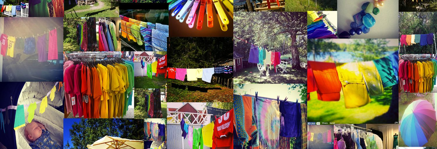 With The Washing Line, We Wanted To Create An Accessible, Casual And  Creative Tool For Everyone To Show Their Support. The Response Was  Stunning, ...